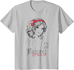 Disney Snow White Fairest Of Them All Graphic T-Shirt