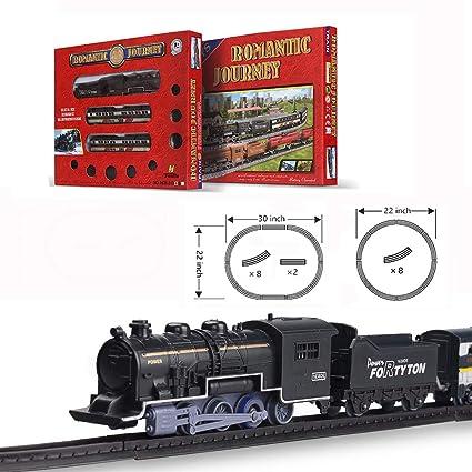 Amazon.com: FENFA Mini Electric Train Juguetes para niños y ...