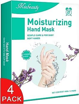 4-Pack Mixbeauty Moisturizing Gloves