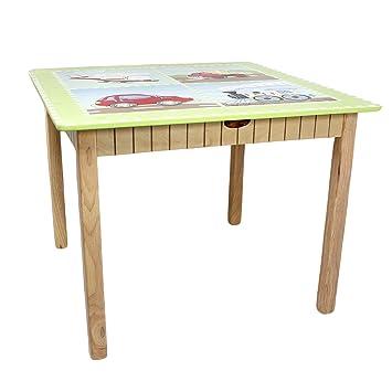 Teamson 9946A1 Sitzgruppe, Tisch und Stühle, Motiv Verkehr: Amazon ...