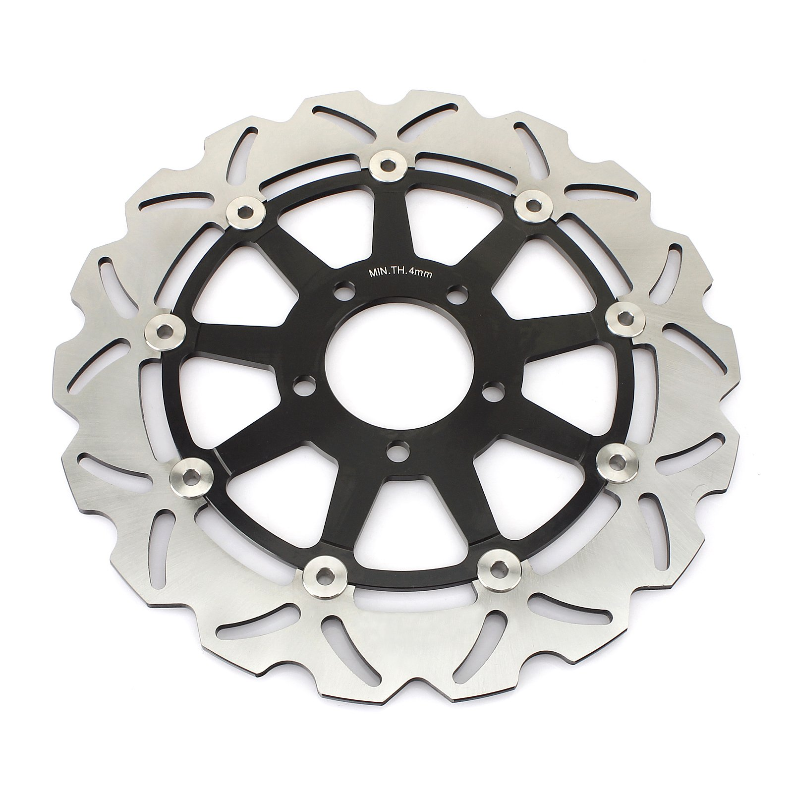 GSXR Front Brake Discs Rotors for Suzuki GSXR600 GSXR750 1997-2003 GSXR1000 2001 2002 Hayabusa GSX1300R 1999-2007 TL1000R TL1000S 98-01 by TARAZON (Image #3)