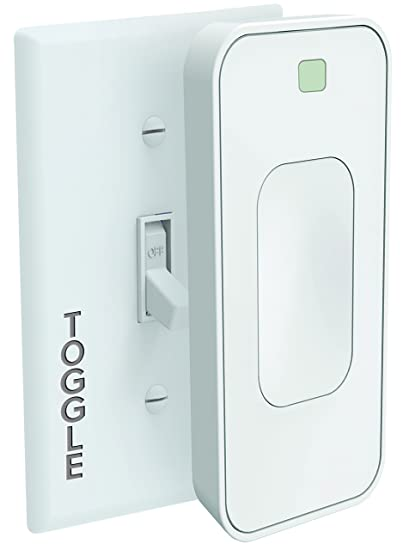 Switchmate Slim for Toggle Light Switches by SimplySmart Home, Timer,  Automation, DIY, Snap On, No Tools, No Wiring, Smart Lighting, Smart Home,