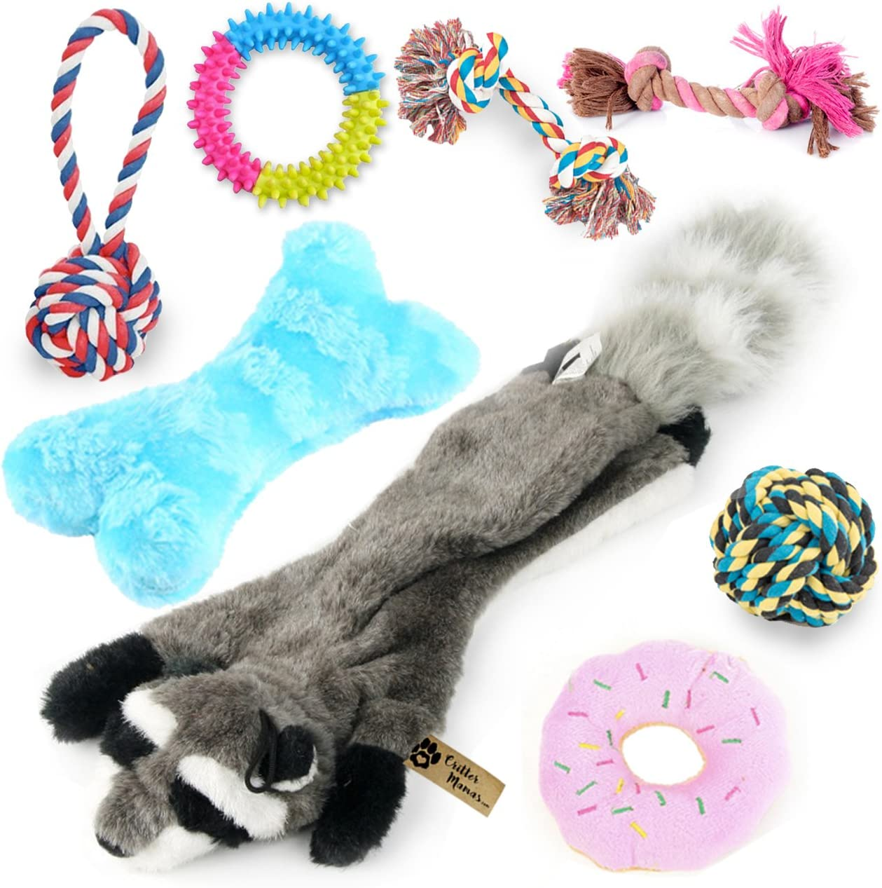 : Critter Mamas Puppy Chew Toys Small Dog Toy