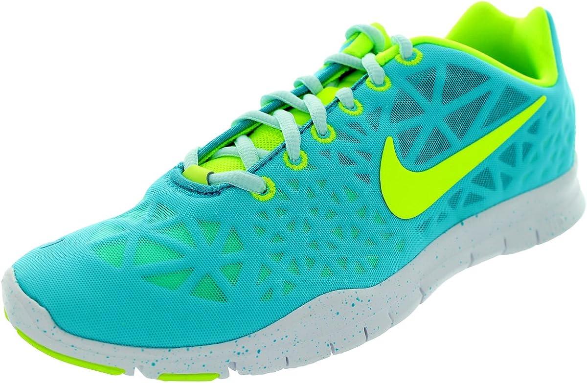 zapatos para baratas descuento pero no vulgar Amazon.com | Nike Free Tr Fit 3 - Womens - Blue/Volt - UK Shoe Size 5 |  Shoes