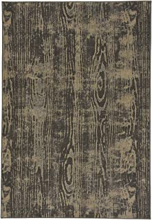 "product image for Thicket Coal 7' 10"" x 10' 10"" Rectangle Machine Woven Rug"