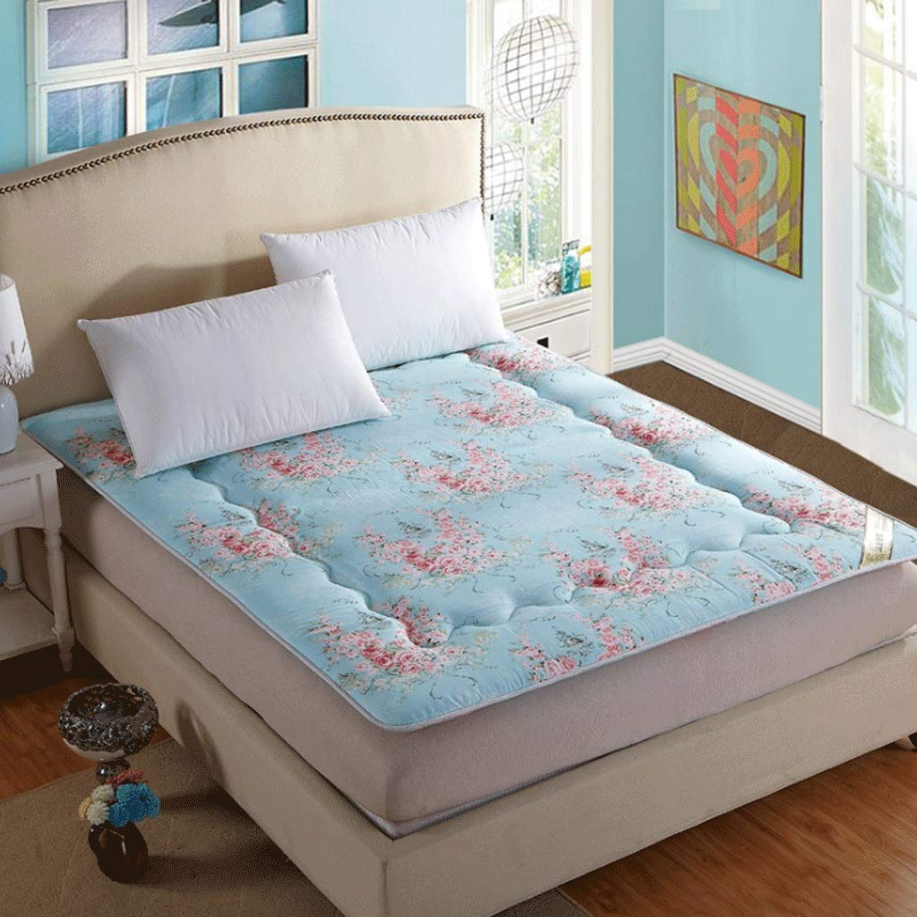 15 90x200cm Student Dormitory Mattress Home Tatami Yoga Folding Sleeping Pad (color   14, Size   120X200cm)
