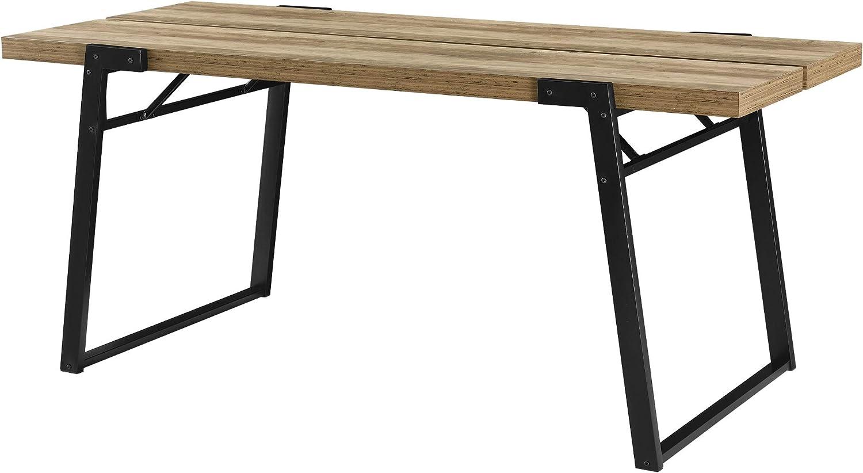 en.casa]® Mesa de Comedor para 6 Personas 180 x 80 x 77cm Diseño ...