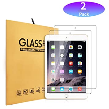 """{1-Pack} SOINEED® Apple iPad 5 5th Gen 9.7/"""" 2017 Tempered Glass Screen Protector"""