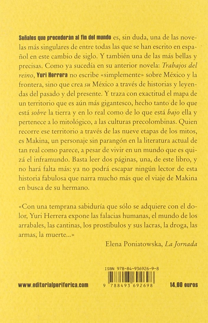 Se・Ales Que Precederan Al Fin Del Biblioteca portátil: Amazon.es ...