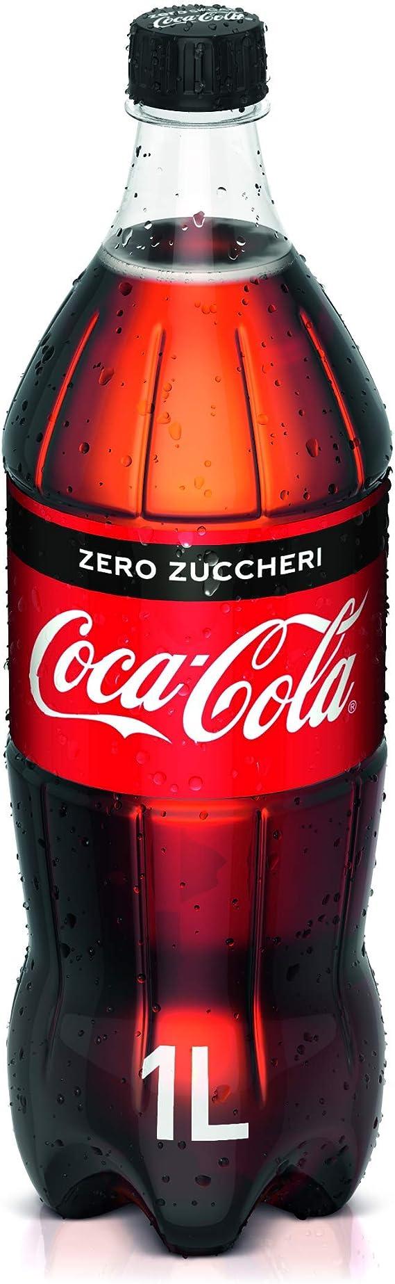 Coca-cola - Zero, sin azúcar, pet - 1l: Amazon.es: Alimentación y bebidas