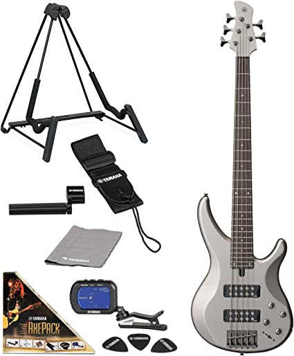Yamaha trbx305 5-string bajo eléctrico Guitarra madera maciza de ...
