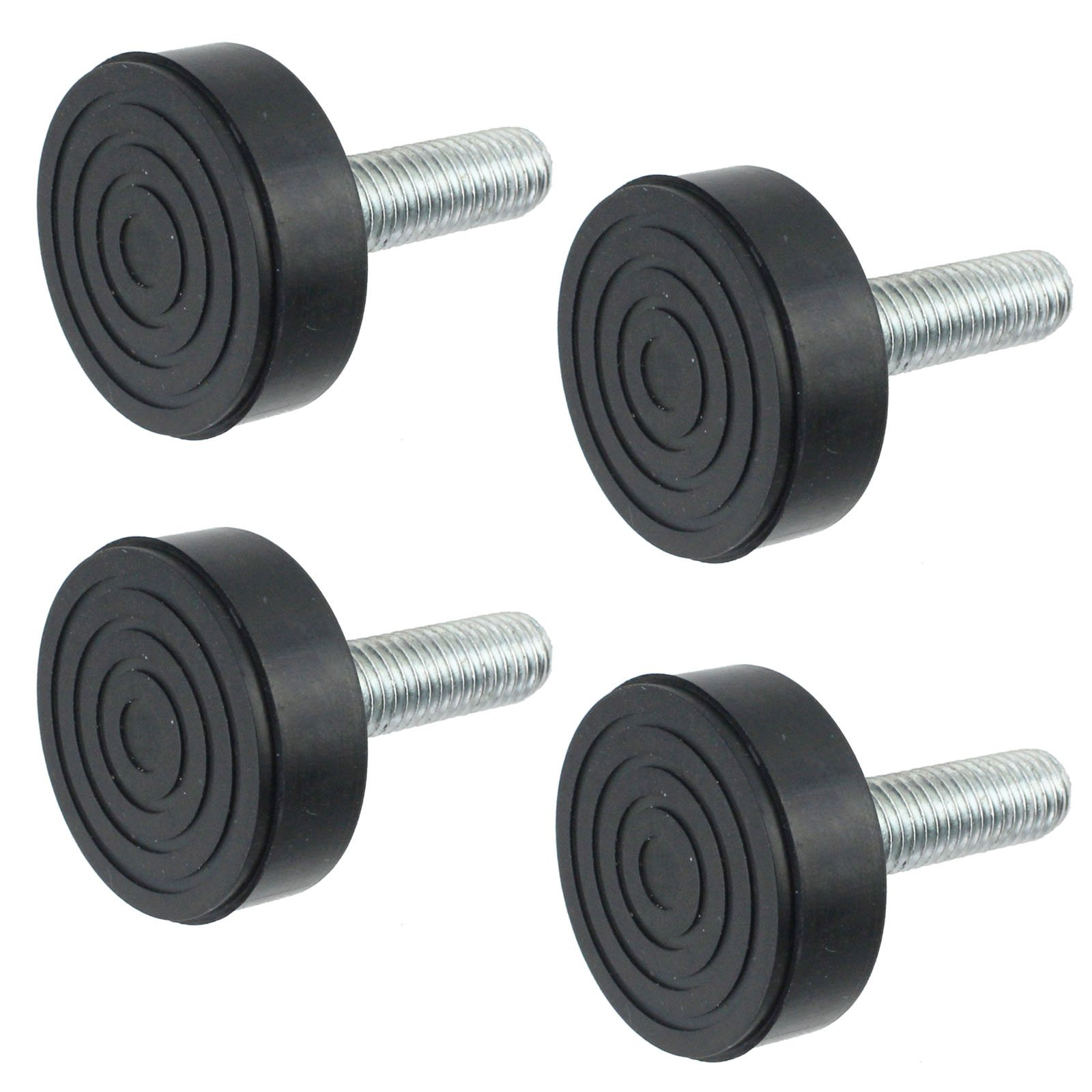 Spares2go Universal Oven Cooker Adjustable Screw In Foot (Pack Of 4, 10mm Thread)