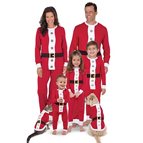 PajamaGram Matching Christmas Pajamas for Family - Family Christmas  Pajamas, Red - Christmas Clothes For Family: Amazon.com