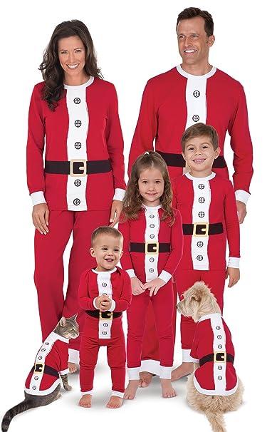 Juego de traje de Papá Noel pijama para toda la familia ...