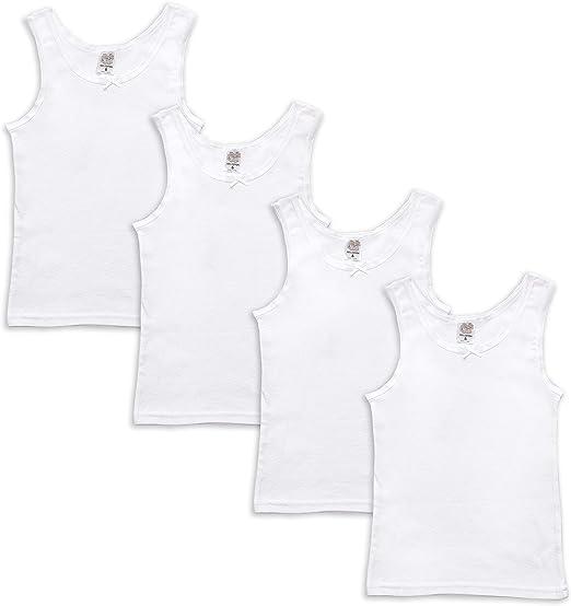 3 Pack White Jack /& Jill Underwear Girls Top Camisole 2, White