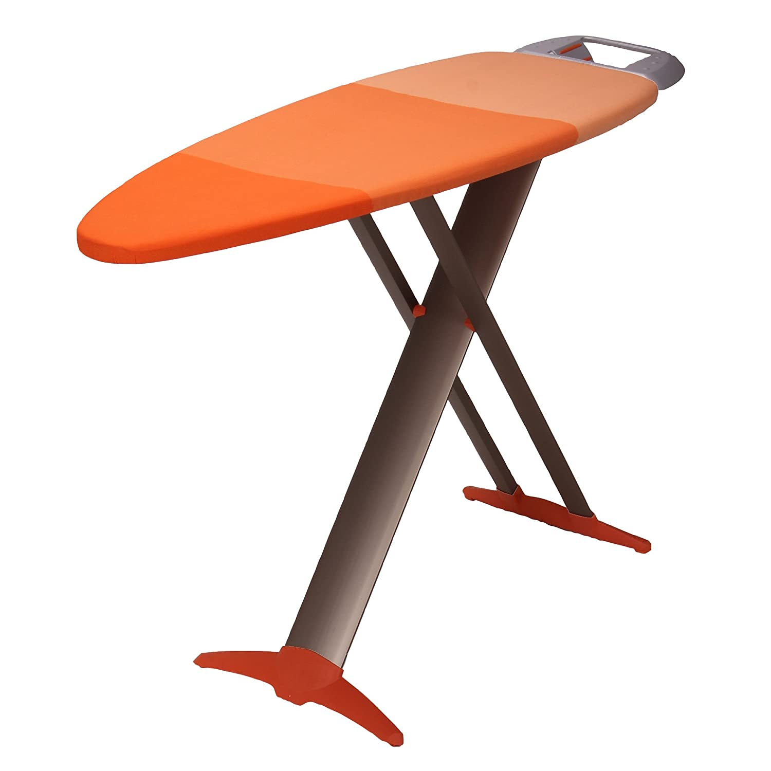Amazon.com: HOUSEHOLD ESSENTIALS 879000 1 Euro Style Premium Steel Top Ironing  Board | Wide Top Tri Leg: Home U0026 Kitchen