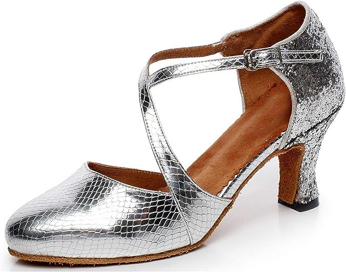 Scarpe da ballo da donna con punta chiusa Minitoo QJ7045