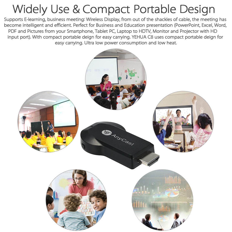 NALMAK MyStyle AnyCast M2 Plus WiFi 1080P FHD HDMI TV Stick DLNA Wireless  Chromecast Airplay Dongle