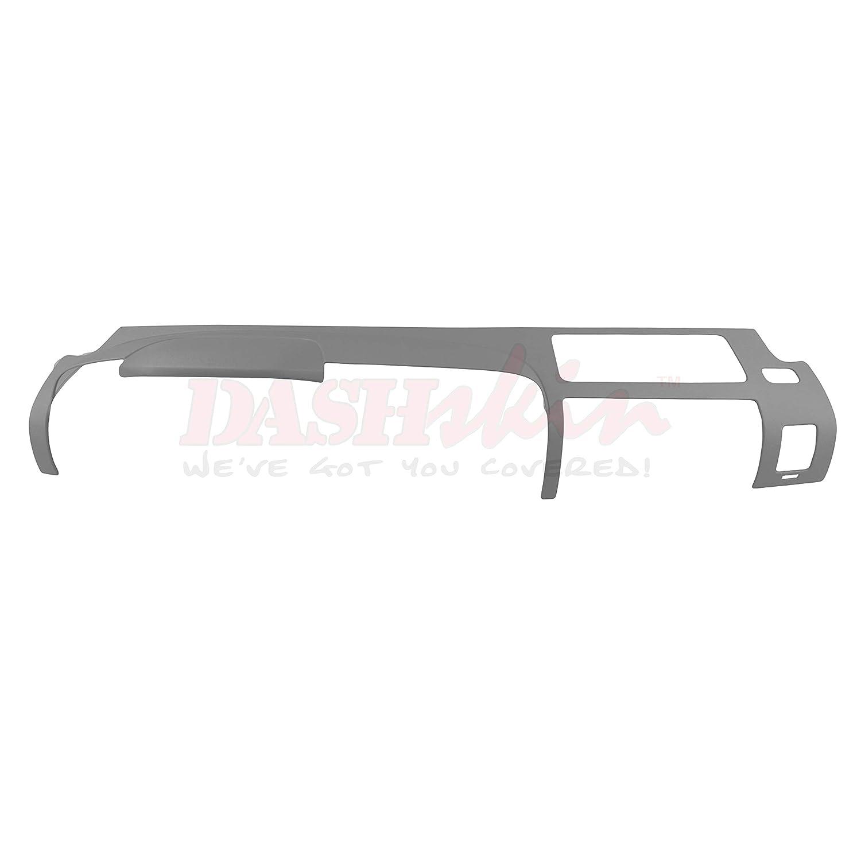 DashSkin Molded Main Dash Cover Compatible with 07-13 Silverado LS//LT /& Sierra SL//SLE in Dark Titanium