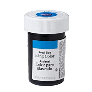 Wilton Royal Blue Icing Color, 1 oz. - Blue Food Coloring