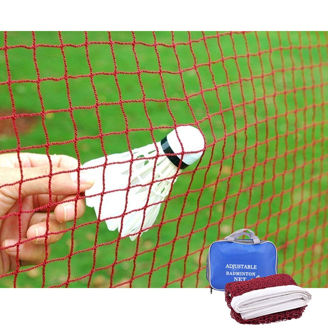Nuevo Pensamiento tenis bádminton neto ajustable plegable estándar internacional grande 20en New thinking
