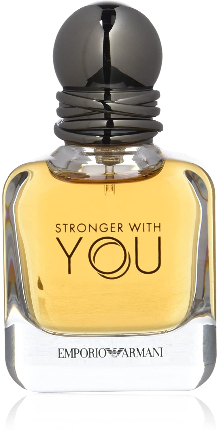 2b99eae4f8ac7 Amazon.com   Giorgio Armani Emporio Armani Stronger With You Eau De  Toilette Spray 100ml 3.4oz   Beauty