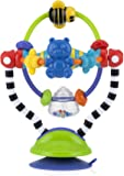 Nuby Silly Spinwheel Highchair Toy, Multi-Colour