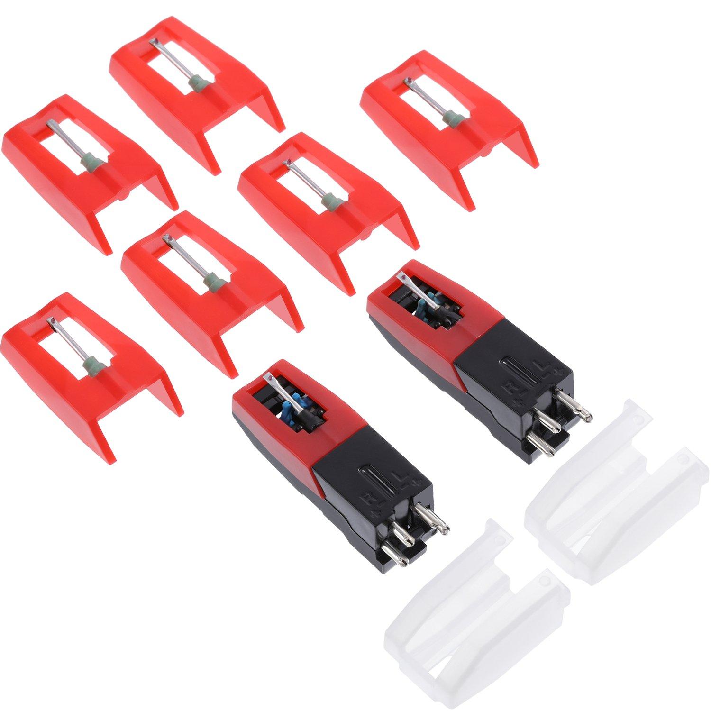 Aguja para cartuchos de girar, incluye cartucho giratorio con tapa ...