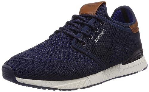 87a3a0d08b1ab6 Gant Men s Atlanta Low-Top Sneakers  Amazon.co.uk  Shoes   Bags