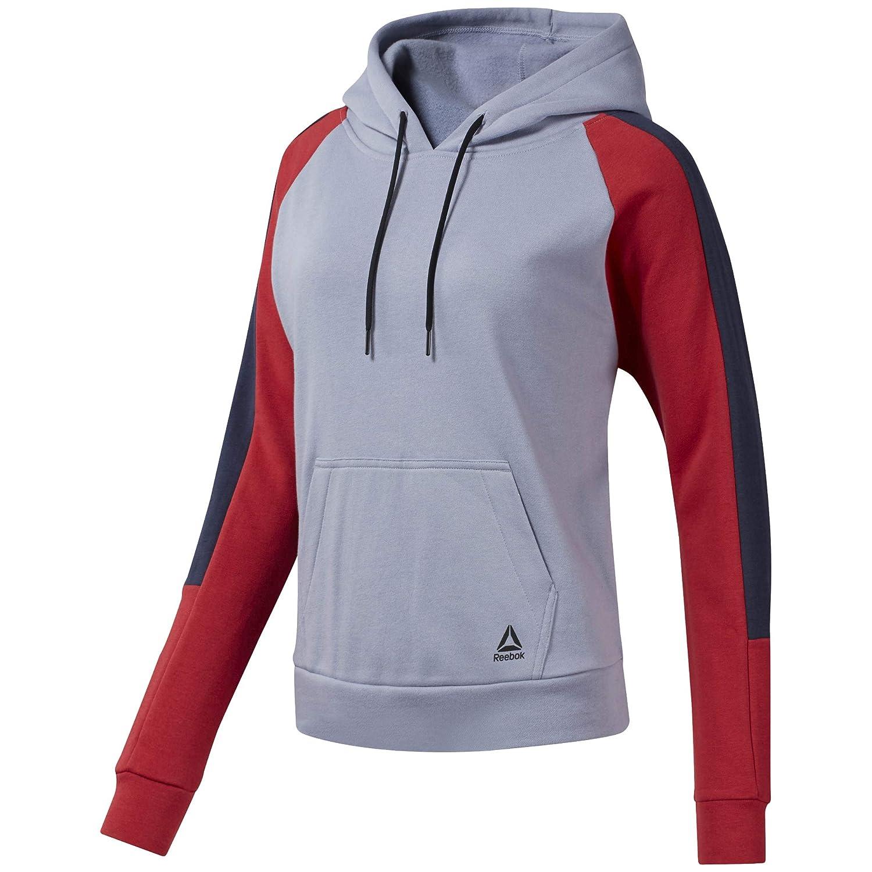 Reebok Damen Wor Colorblocked Coverup Sweatshirt