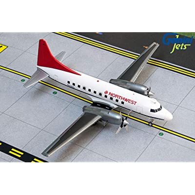 GeminiJets G2NWA807 1:200 Northwest Airlines Convair 580 Airplane Model: Toys & Games