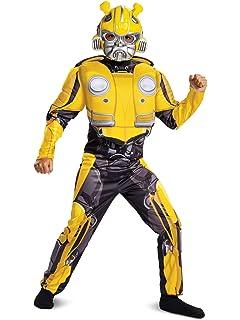 Amazon.com: Transformer Bumblebee Costume 4-6: Toys & Games