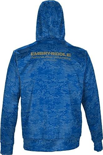 Embry-Riddle Aeronautical University Worldwide Girls Pullover Hoodie Game Time School Spirit Sweatshirt