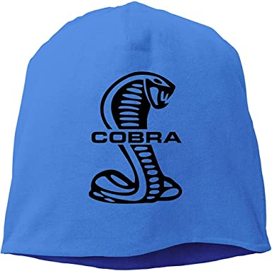 Cobra Snake Winter Beanie Hat for Mens Knit Slouchy Skull Caps