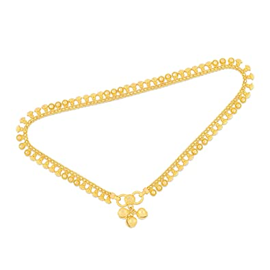 anklet low online malabar at buy yellow diamonds gold and dp real