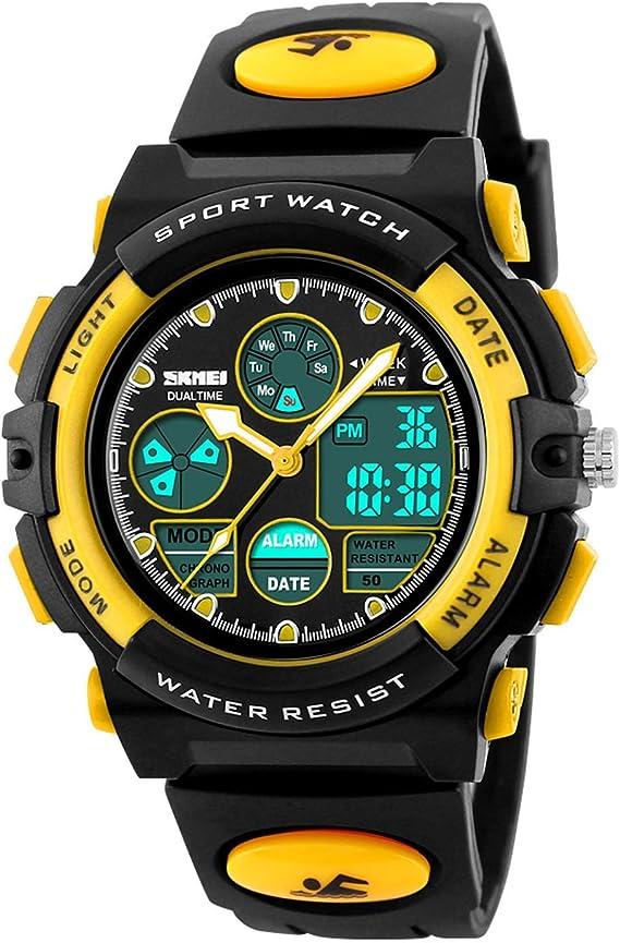 Amazon.com: Reloj deportivo digital para niños, para niñas ...
