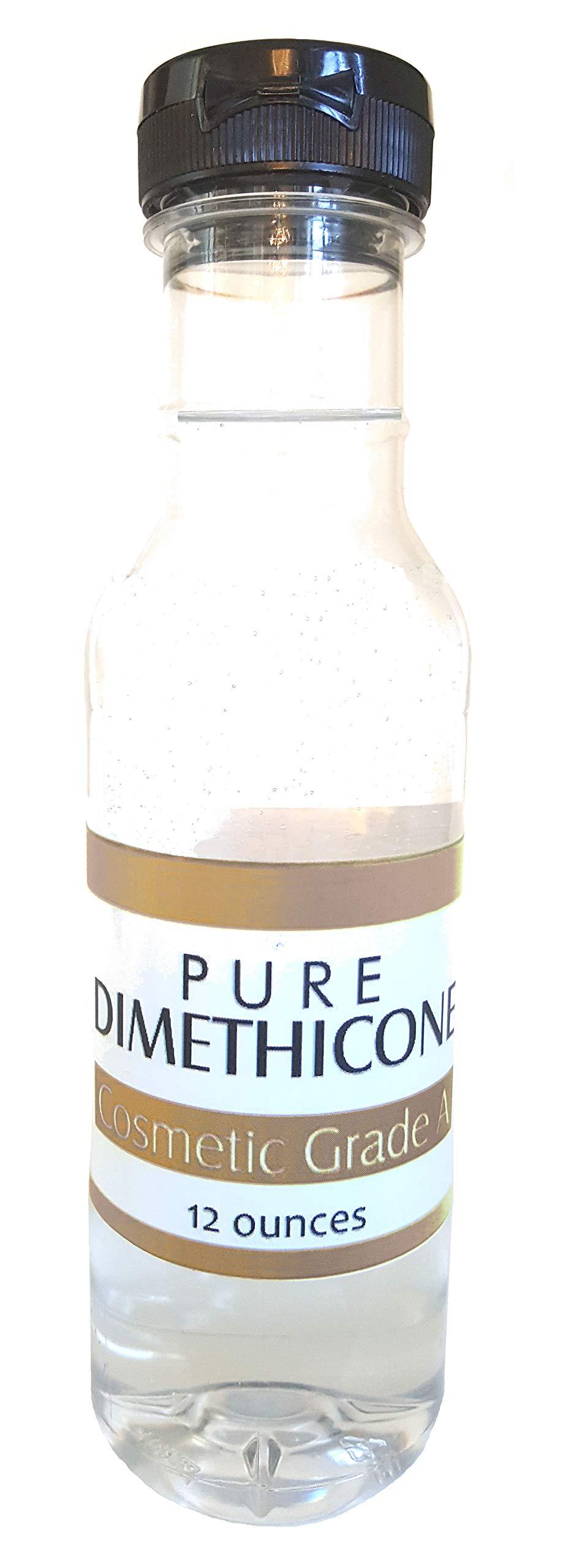 Dimethicone 12 Ounce Economy Size Liquid Silicone Great for Treadmill Belt Head Lice Treatment, Gun Oil