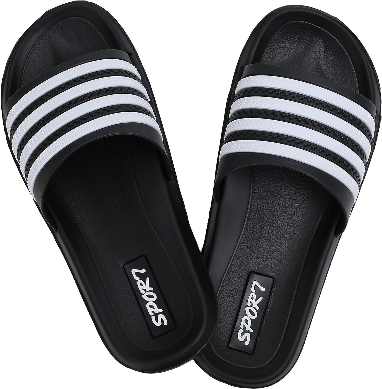 Shoes Mens Womens Lightweight Slide Sandals-Slip on Slides Sandal Shoes for  Indoor or Outdoor-Unisex Flexible House Slipper Sport Slides Clothing, Shoes  & Jewelry samel.com.br