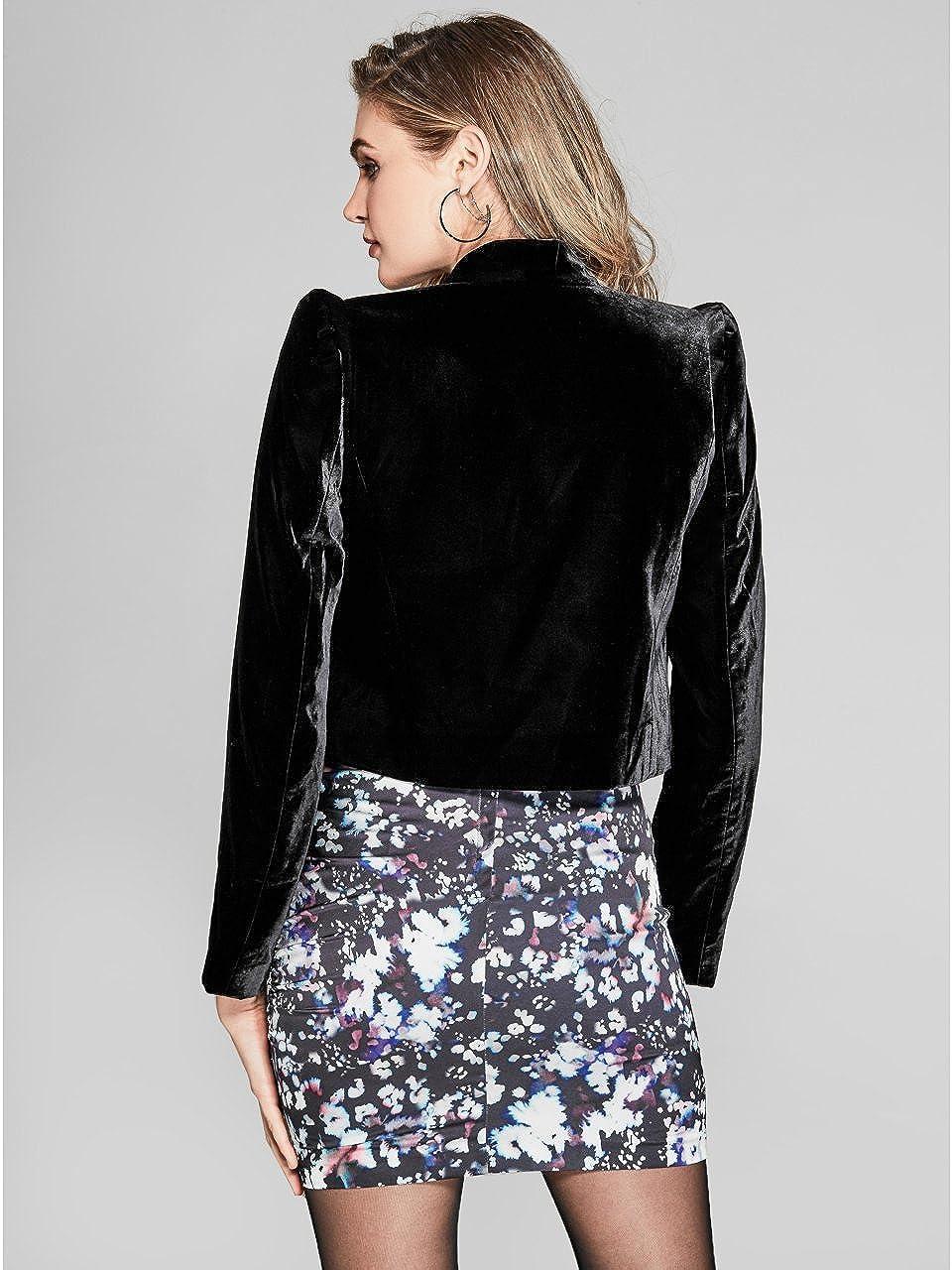 Amazon.com: Guess By Marciano Lexie Cropped Blazer de ...