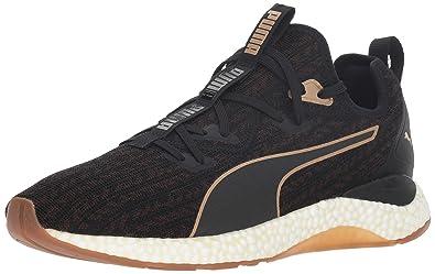 6f593a7df592 PUMA Men s Hybrid Runner Sneaker Black-Metallic Bronze