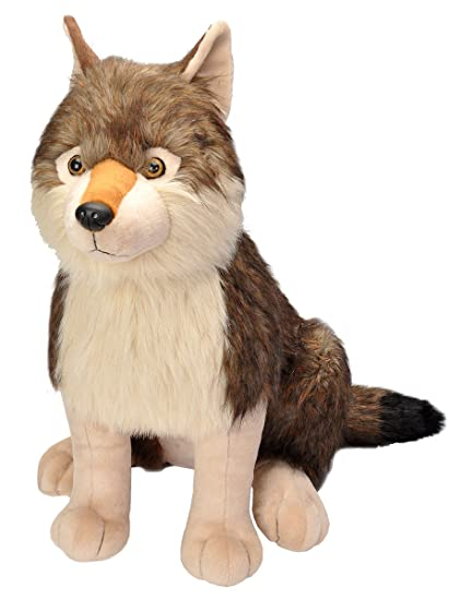 Wild Republic Wolf Plush, Stuffed Animal, Plush Toy, Gifts for Kids, Little