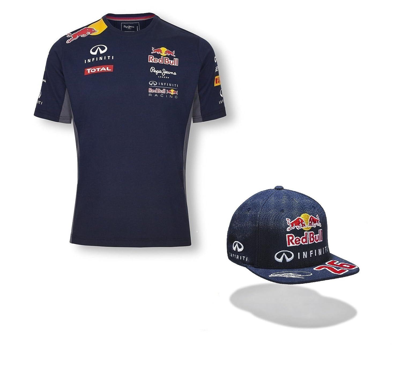 Infiniti Red Bull - Camisa y gorra plana de equipo de F1 (para ...