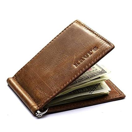 abile design prestazione affidabile offrire sconti Portafoglio Uomo Piccolo Porta Carte di Credito Brief ...