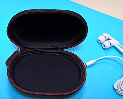 Zee s Music Black Zipper Earphones Carrying Case for Beats Monster by Dr.Dre  Power Beats 2 Power Beats Wireless Tour Heart Beats by Lady Gaga Diddy Beats  ... 5c604ab6b2