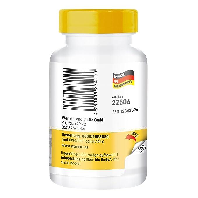 GABA 750mg de - ácido gamma amino butírico - 60 comprimidos: Amazon.es: Salud y cuidado personal