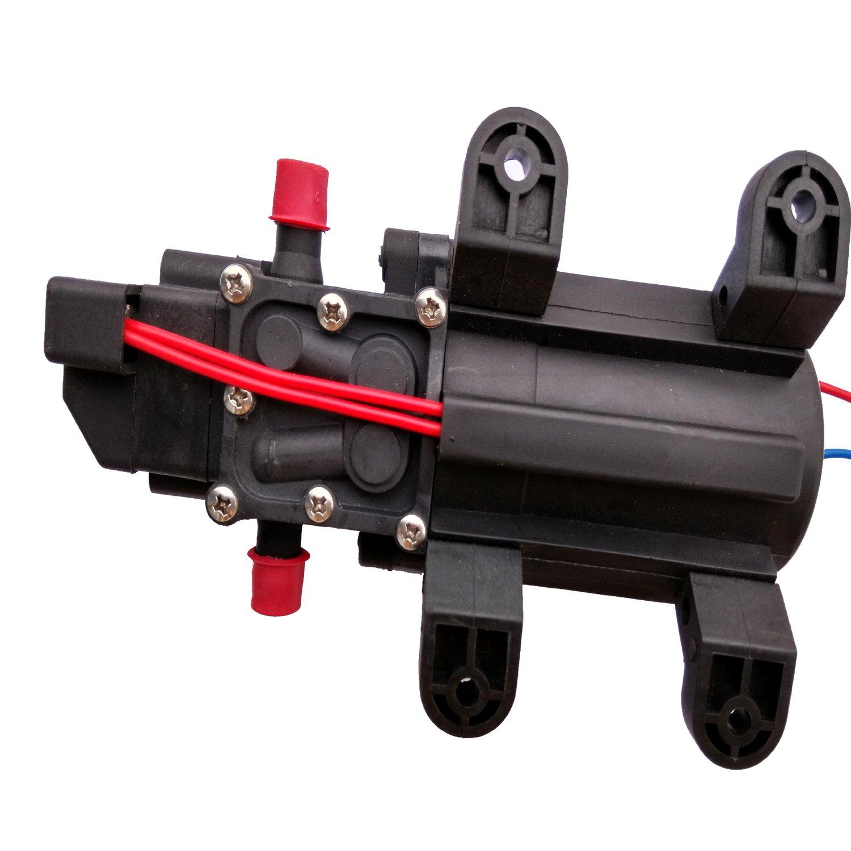 Hot Wing ad alta pressione di acqua Pompa autoadescante a membrana 5 L//m per camper//roulotte//barca//giardino 131 psi 12 V CC