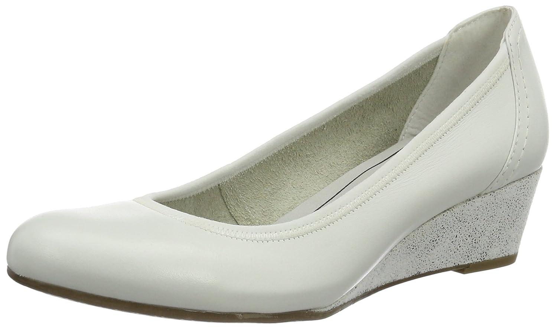 Tamaris 22301, Zapatos de Tacón para Mujer 37 EU|Blanco (White Comb 197)