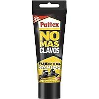 Pattex Geen meer nagels, originele sterke lijm voor hout, metaal en meer, onmiddellijke witte lijm, 1 tube x 250 g