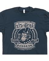 Bangkok Thailand T Shirt The Smoking Monkey Beastie Bar Shirts Pub Hangover Funny Graphic Tee