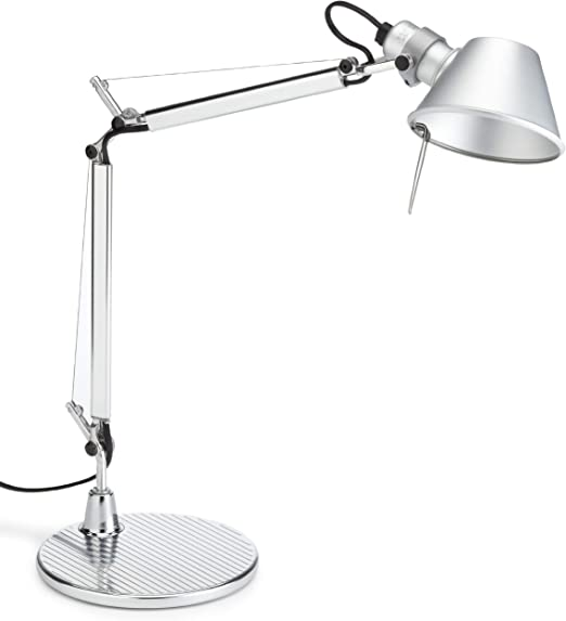 Artemide Tolomeo Micro E14 Aluminio lámpara de mesa - Lámparas de ...
